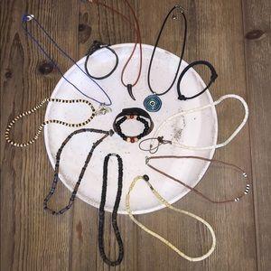 Other - Bundle O' Guy Bling! 9 Necklaces & 4 Bracelets!